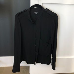 Black theory blouse